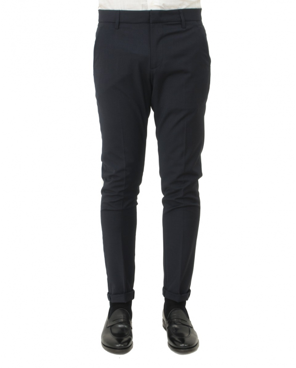 DONDUP Pantaloni gaubert Blu