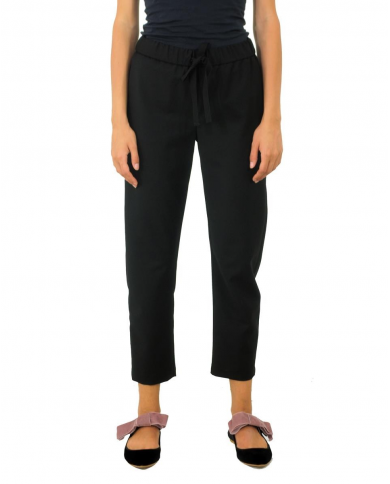 SEMI COUTURE Pantaloni buddy Nero Y8AL06.950