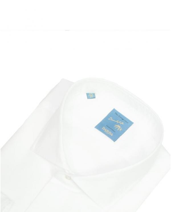 BARBA NAPOLI Camicia classica collo francese Bianco D2U02.3531001