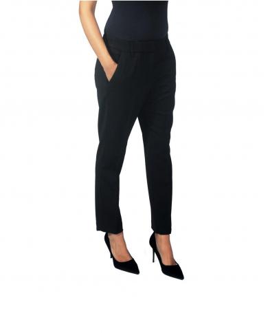 DONDUP Pantaloni Donna DP160 WS071D/XXX/999 Nero DP160.WS071D/XXX/999