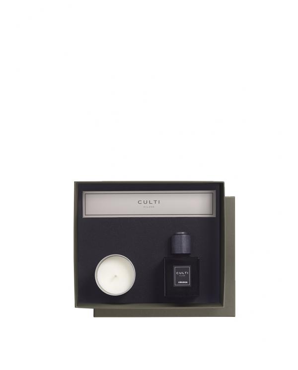 CULTI Gift box diffusore ambiente decor ARAMARA CANDELA ESPERIDE  GB DEC.CLAES.ARAMARA CANDELA E
