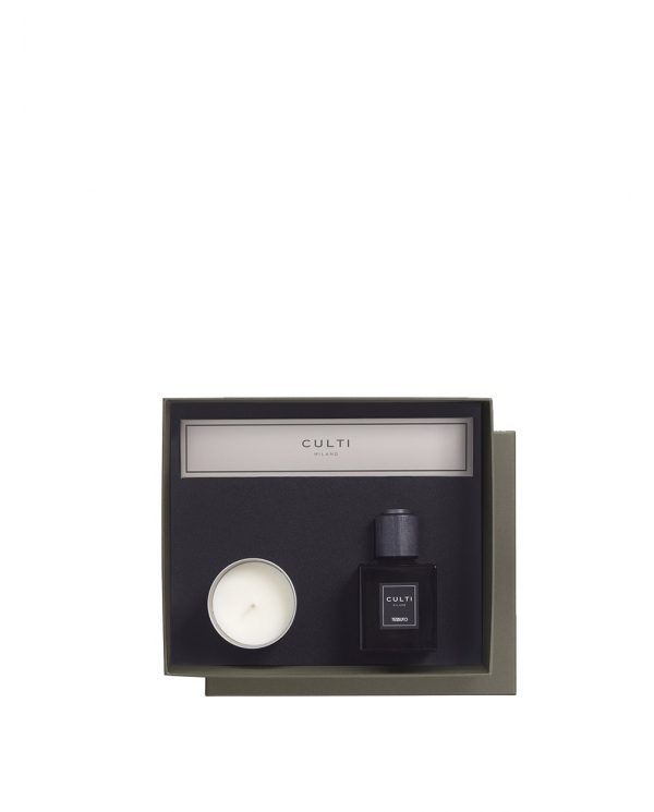 CULTI Gift box diffusore ambiente decor TESSUTO CANDELA VELVET  GB DEC.CLAES.TESSUTO CANDELA V