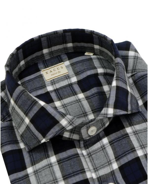 XACUS Camicia a quadri Blu 722ML. 31350 002