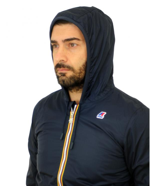 K-WAY Jacques nylon jersey Blue Depht      K007A10 K89