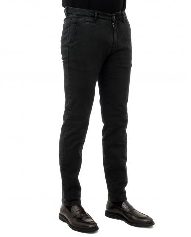 BRIGLIA Pantalone uomo Nero BG05.49502 510
