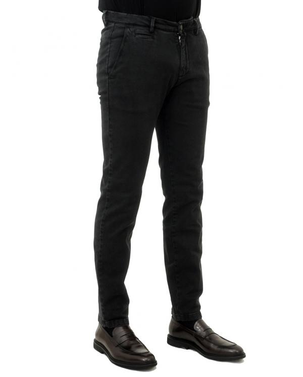 BRIGLIA Pantalone uomo Nero