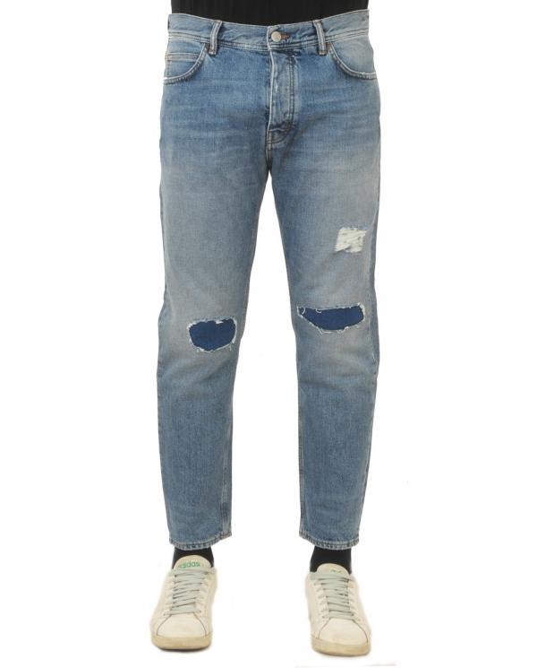 HAIKURE Jeans Tokio con strappi Chiaro HEM03103 DF052.L0030