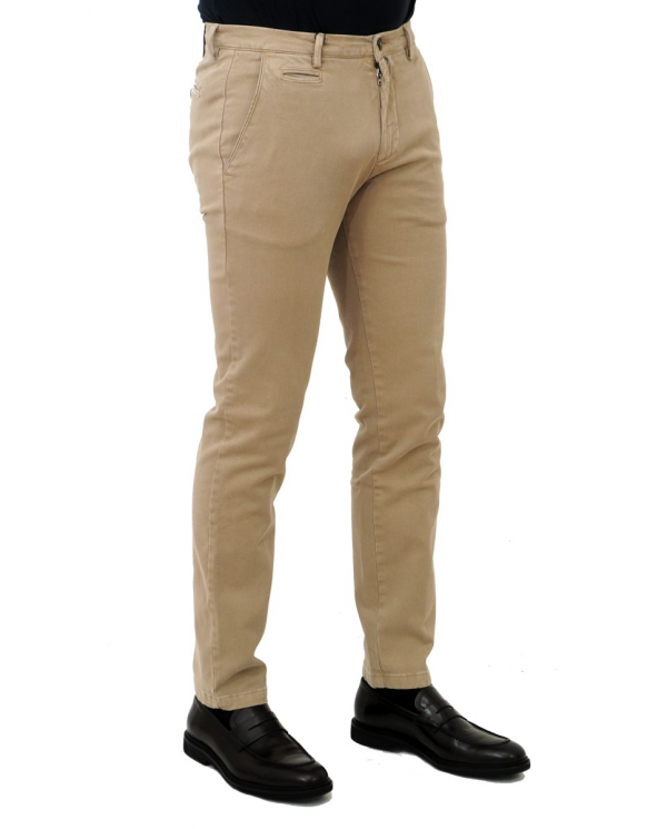 BRIGLIA Pantalone tasca america Beige BG05.49502 553