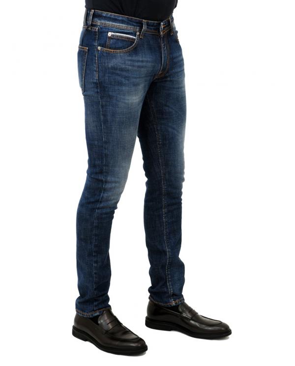 BLU BRIGLIA Jeans Ribot denim scuro RIBOT.49147 656