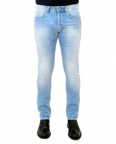 DONDUP Pantalone George denim chiaro UP232 DS0107U AA9 800