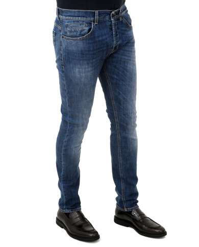 DONDUP Pantalone George BLU UP232 DS0257U AB3 800