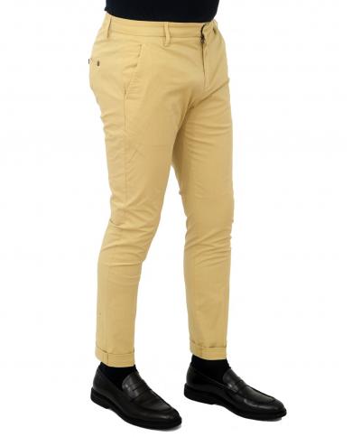 DONDUP Pantalone Gaubert KAKI UP235 PSE014U PTD 051