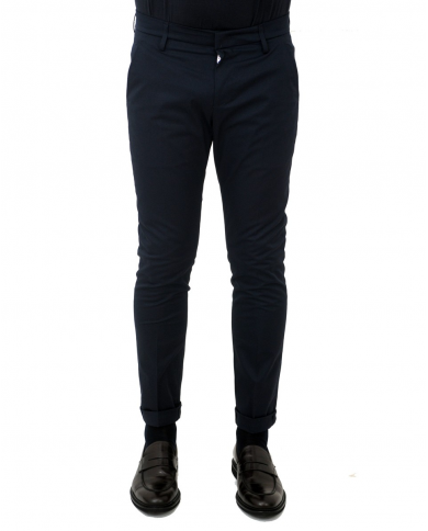DONDUP Pantalone Gaubert BLU CUPO UP235 RS0037U XXX 897